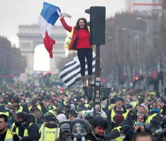 เหตุการณ์ประท้วงที่ฝรั่งเศสมันคืออะไร