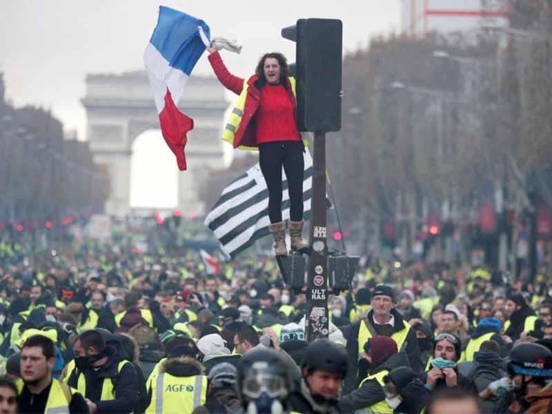 เหตุการความไม่สงบของประเทศผรั่งเศส